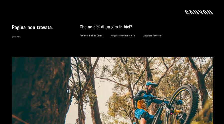 Pagina 404 Canyon